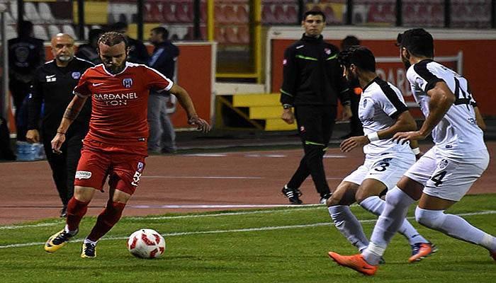 Dardanelspor 3 puanı kaptı