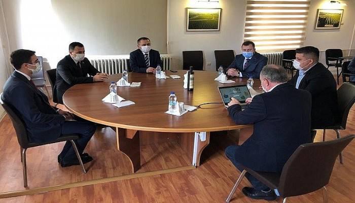 Vali Aktaş, Anadolu Etap Çanakkale Kumkale Çiftliğine Gitti