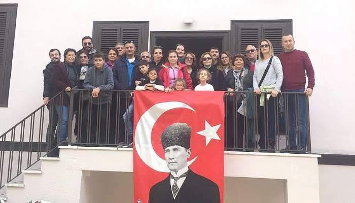 Çanakkale Barosu Atatürk'ü Selanik'te Andı