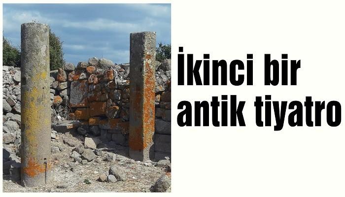 Ahırlar arasında ikinci bir antik tiyatro
