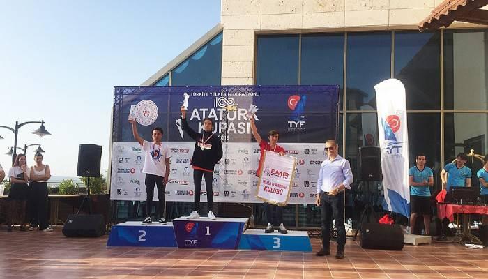 İÇDAŞ Sporculari Yelken Yarışmalarında 3 Madalya Aldı
