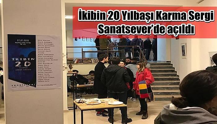 İkibin 20 Yılbaşı Karma Sergi Sanatsever'de açıldı