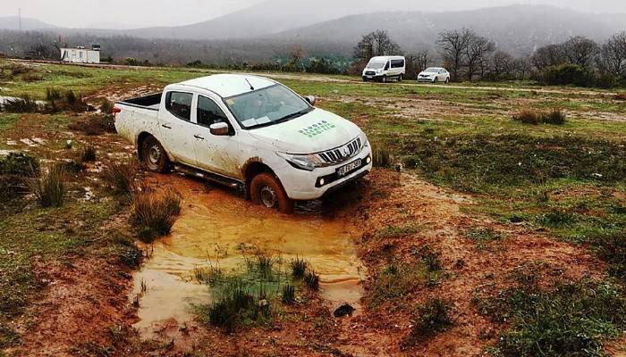 UEDAŞ'tan kaliteli hizmet için çalışanlarına güvenli sürüş eğitimi