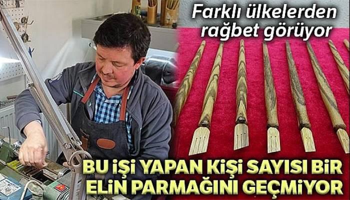 Türkiye'de bu işi yapan kişi sayısı bir elin parmaklarını geçmiyor