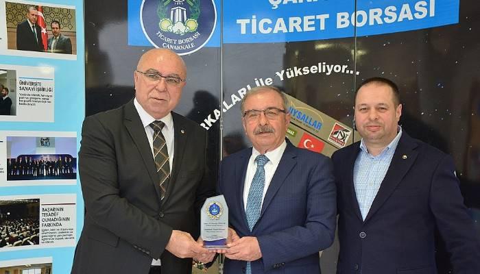 Başkan Özacar'dan Ticaret Borsasına Ziyaret