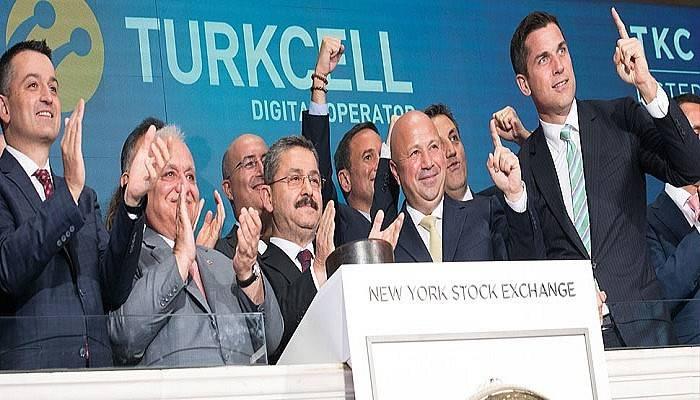 Turkcell, New York Borsası'nda Türk bayrağını bir kez daha dalgalandırdı