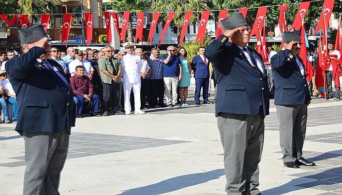 Çanakkale'de Gaziler Günü kutlaması (VİDEO)