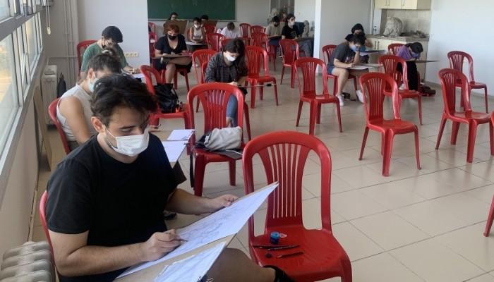Güzel Sanatlar Fakültesi Yetenek Sınavları gerçekleşti