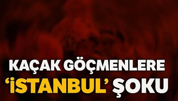 """Kaçak göçmenleri """"İstanbul"""" diyerek Kırıkkale'ye bıraktılar"""