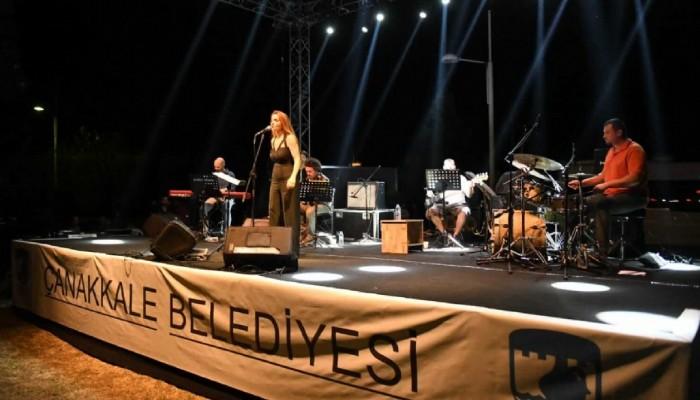 Müzik Geceleri Jülide Özçelik, Foya ve Sarpedon Konserleri ile devam etti