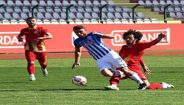 Dardanelspor Çatalcaspor'u 2-0 mağlup etti!