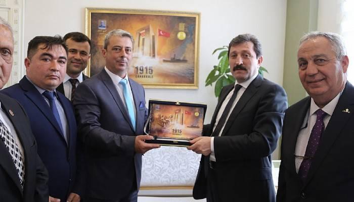 İl Genel Meclis Başkanı ve Divan Üyelerinden Ziyaret