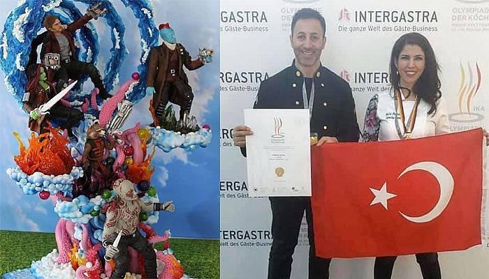 Dünya Gastronomi Olimpiyatları'nda altın madalya kazandılar