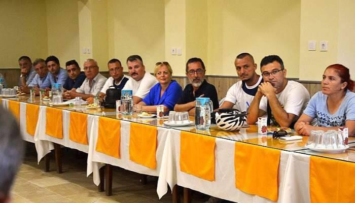 Spor Kulüpleri Başkanları Bir Araya Geldi