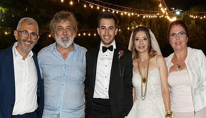 Tuğçe ve Yiğit Muhteşem bir düğünle evlendi