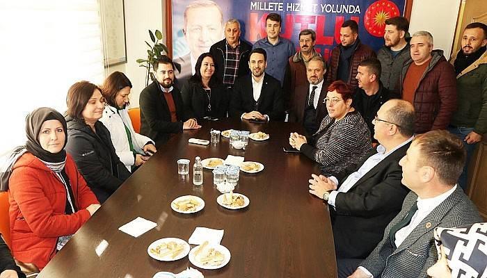 AK Parti İl Başkanı Makas, İlçe Ziyaretlerine Devam Ediyor