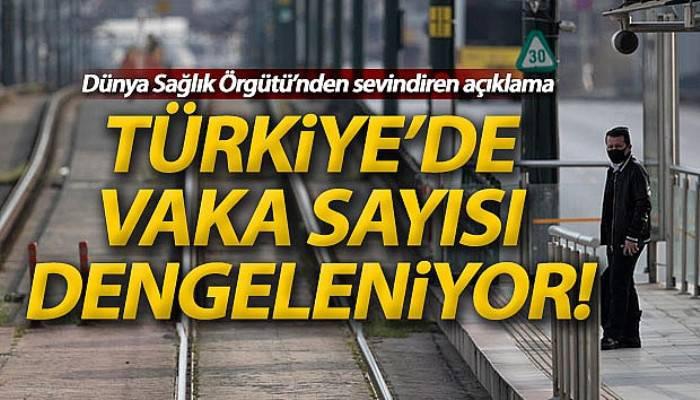 Türkiye'de vaka sayısı dengelendi