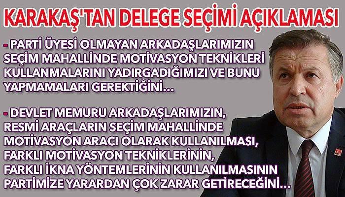 """""""CHP'ye yakışmayacak davranışların olması hepimizi derinden yaralar"""" (VİDEO)"""