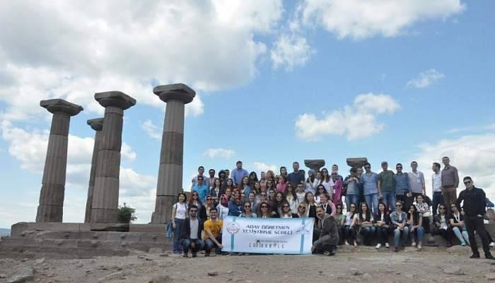 Aday Öğretmenler Truva ve Assos Antik Kentlerini Gezdi