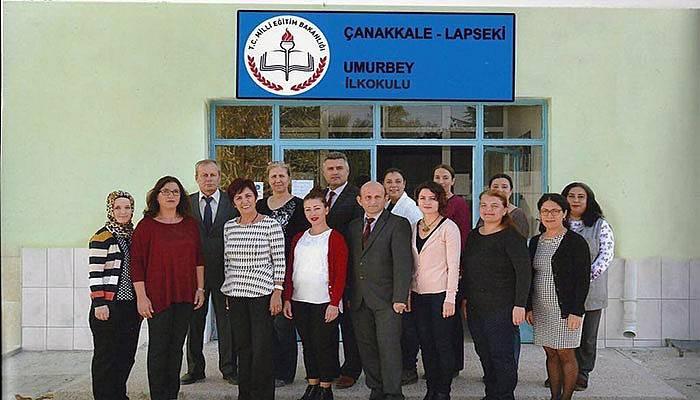Umurbey İlkokulundan Erasmus projesi
