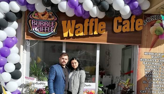 Waffle Cafe açıldı