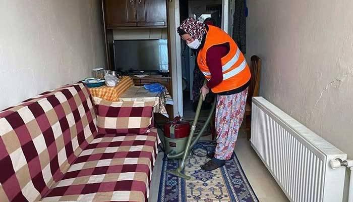İhtiyaç sahiplerine evde temizlik desteği