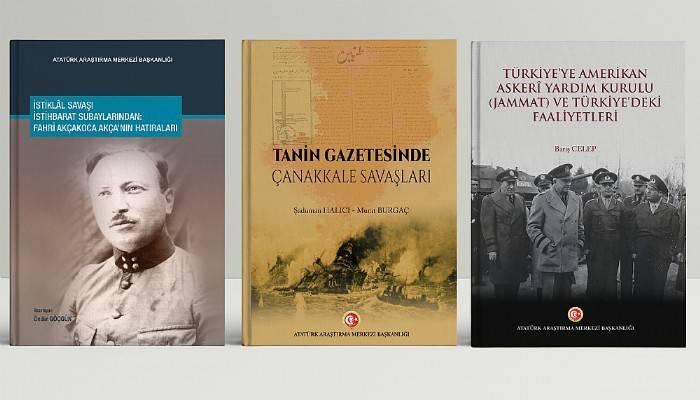 Atatürk Araştırma Merkezi Başkanlığından 3 Yeni Eser
