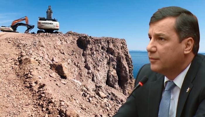 Milletvekili Ceylan'dan Assos Kaya Islahı Projesine Teknik Eleştiri (VİDEO)