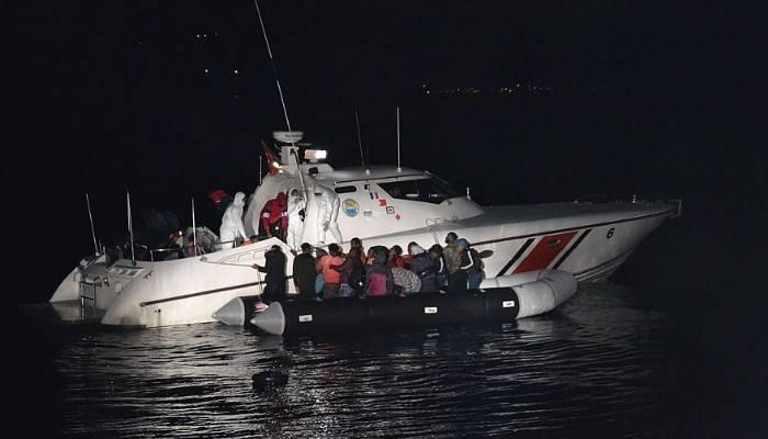Yunanistan'ın ölüme terk ettiği 31kaçak göçmen kurtarıldı