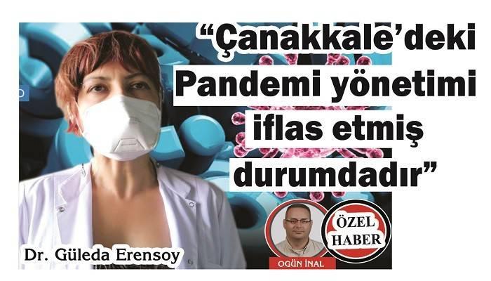 'ÇANAKKALE İÇİN TAM KAPANMA TALEP EDİYORUZ': 'Çanakkale'deki Pandemi yönetimi iflas etmiş durumdadır'