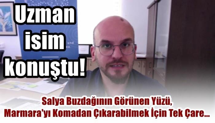 Marmara Denizi komada! (VİDEO)