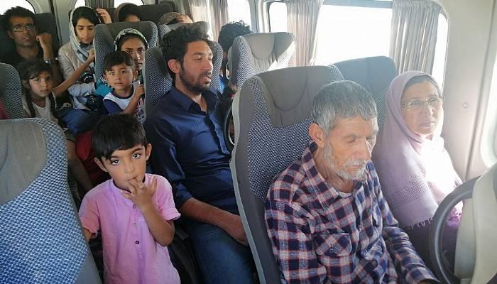 Çanakkale'de 88 kaçak göçmen yakalandı (VİDEO)