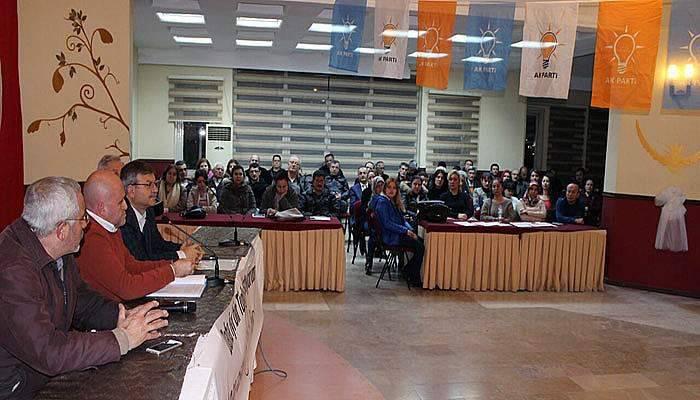 AK Parti Merkez İlçe'den referandum startı