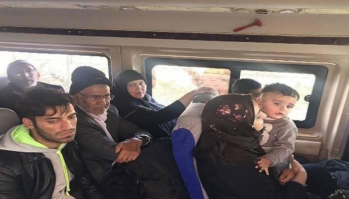 Çanakkale'de 23 Afgan kaçak yakalandı (VİDEO)