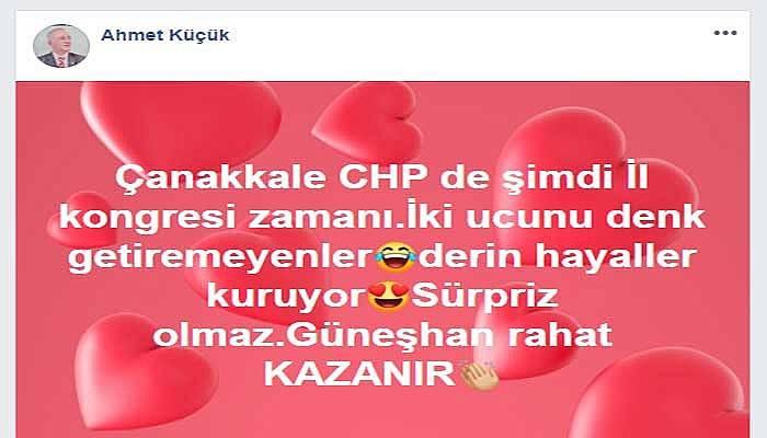 CHP'li eski vekilden kalpli-gülücüklü kongre tahmini!
