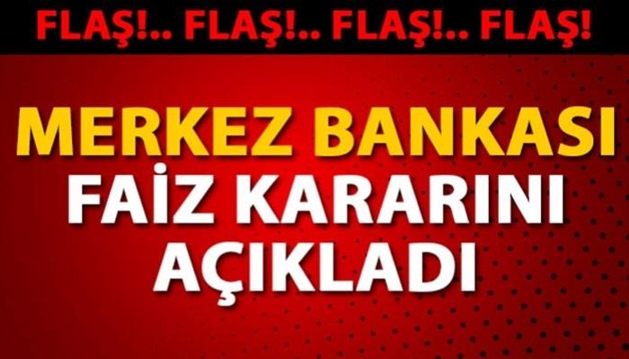 Merkez Bankası, faizi yüzde 16'ya düşürdü