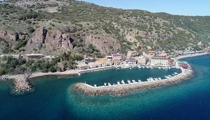 Assos Antik Liman çalışmaları Ocak'ta bitecek