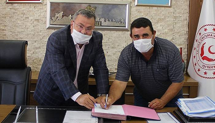 Engelli çiftçiye İŞKUR'dan hibe desteği