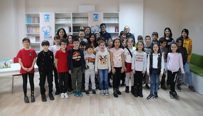 Çocuk Kültür Evi'nde Yazar Ahmet Büke ile Söyleşi Gerçekleşti