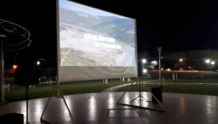 Gümüşçay'da Açıkhava Sinema Günleri Başladı