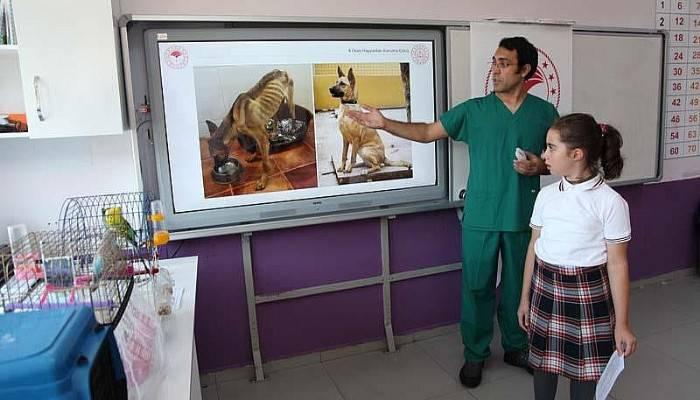 Hayvan Sevgisi Konusunda Eğitim Düzenlendi