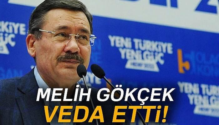 Başkan Gökçek, Büyükşehir Belediyesinin kapalı anons sisteminden personele veda etti