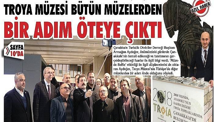 """""""Türkiye'de bütün müzelerden bir adım öndeydik"""""""
