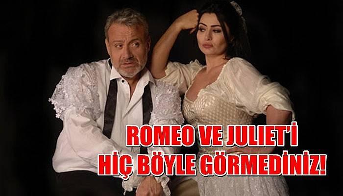Romeo ve Juliet'i hiç böyle görmediniz!