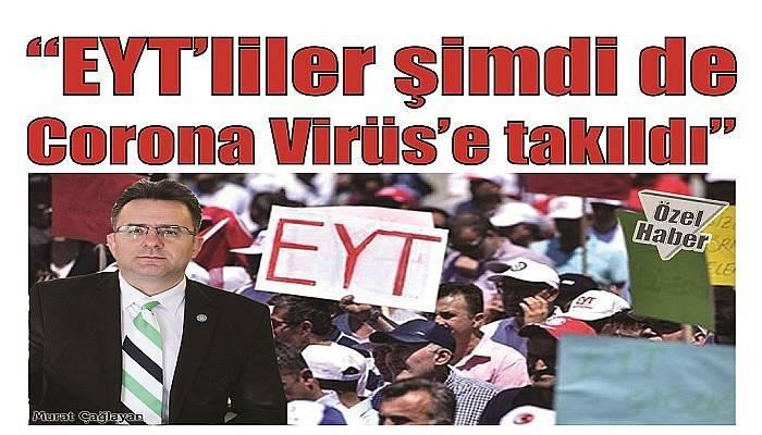 """""""EYT'liler şimdi de Corona Virüs'e takıldı"""""""