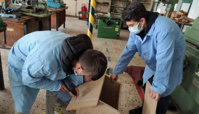 Mesleki Eğitimde 1000 Okul Projesi Kapsamında Çalışmalar Sürüyor