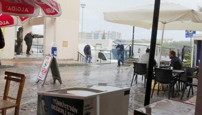 Çanakkale Yağmura Teslim Oldu