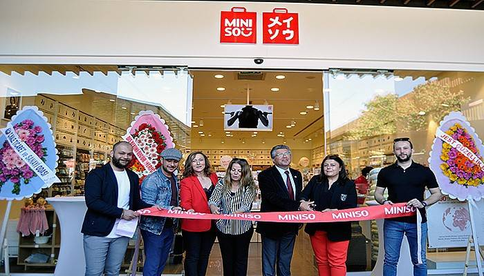 Çanakkale Japon ürünlerini 'MINISO' ile tanıyacak