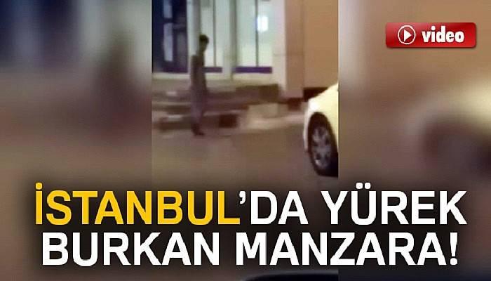 İstanbul'da yürekleri burkan manzara