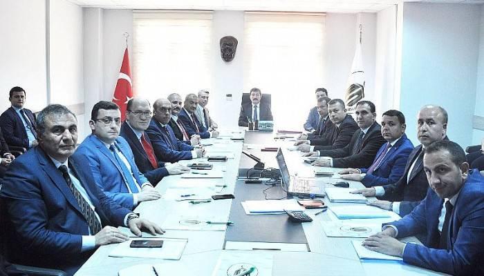 İl Özel İdaresinde KÖYDES İl Tahsisat Komisyon Toplantısı Yapıldı